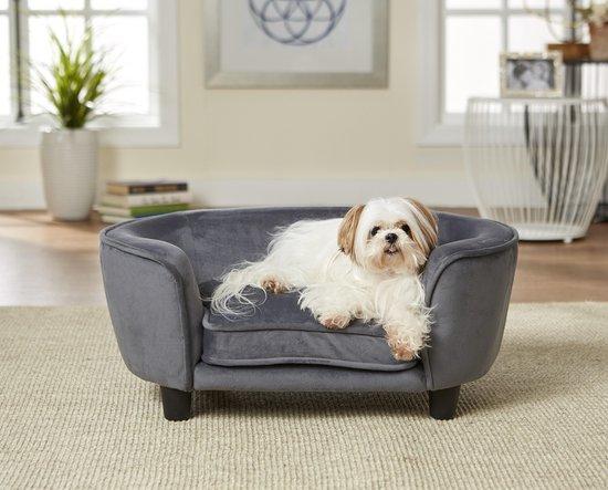 Enchanted hondenmand / sofa coco grijs 67,5x40,5x30,5 cm