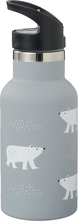 Fresk Drinkfles Thermos Polar Bear 350 ml - drinkbus - sportfles - drinkenbus kindjes - warm en koude dranken