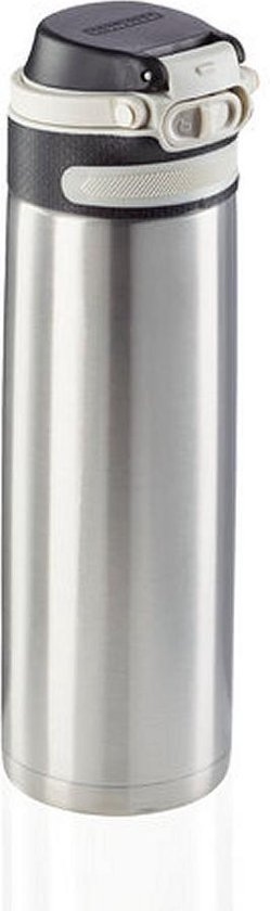 Leifheit 3272 Flip Isoleerbeker 600 ml RVS
