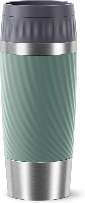 Tefal Travel Mug Easy Twist Thermobeker - Groen - 0,36 liter