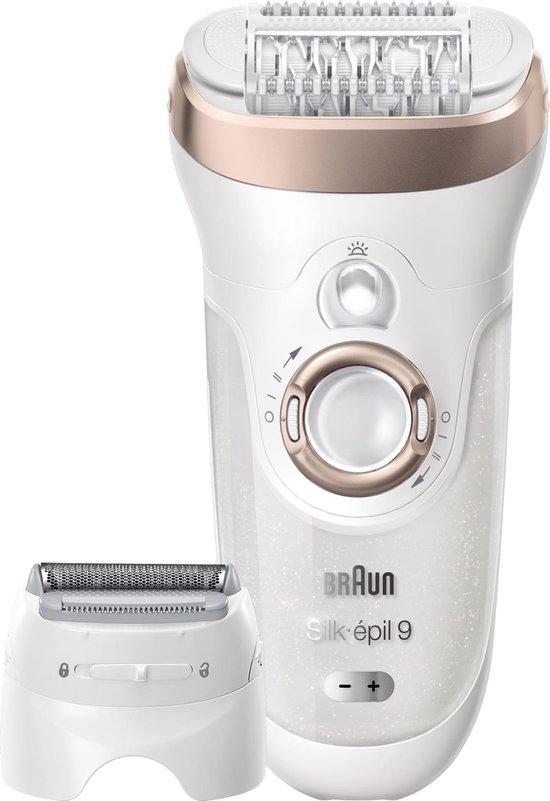 Braun Silk-épil 9 - Epileerapparaat - Wit
