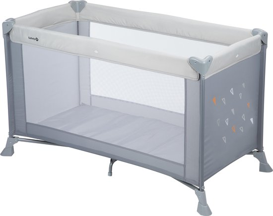 Safety 1st Soft Dreams Campingbedje - Warm Grey