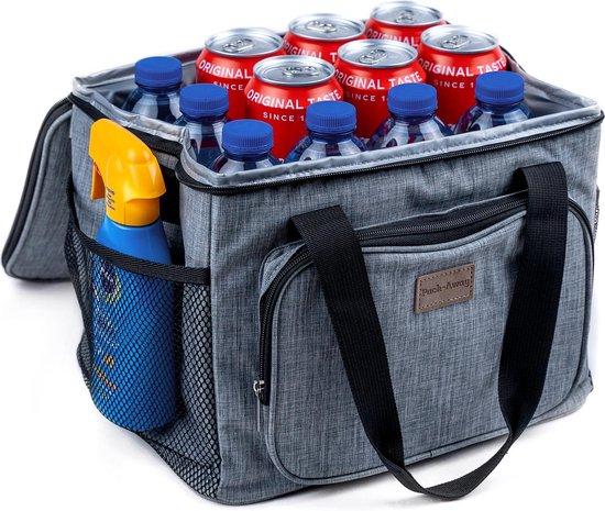 Packaway Koeltas - Lunchtas 15 liter - 3 Laags Geïsoleerd Inclusief 2 GRATIS Koelelementen