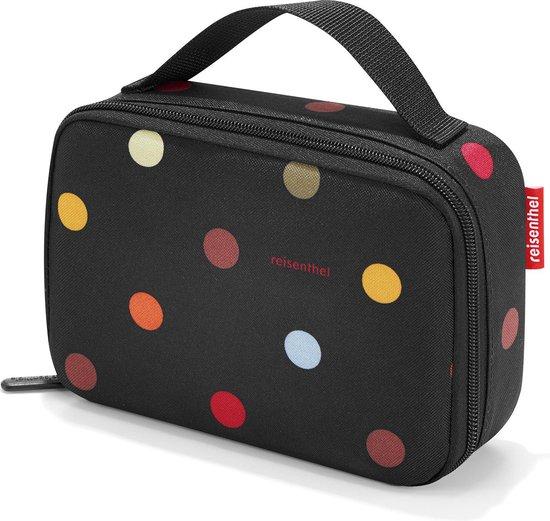 Reisenthel Thermocase Lunchbox - 1,5L - Dots Zwart